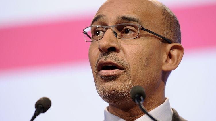 Harlem Desir, premier secrétaire du PS,le 28 octobre 2012 à Toulouse (Haute-Garonne). (LIONEL BONAVENTURE / AFP)