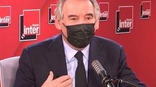 François Bayrou, maire de Pau et Haut-commissaire au Plan, est l'invité du Grand entretien de France Inter. (FRANCEINTER / RADIOFRANCE)