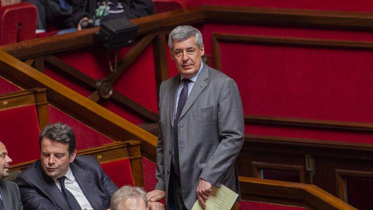 Henri Guaino assiste à une séance de questions au gouvernement à l'Assemblée nationale le 9 Juin 2015. (CITIZENSIDE / AURELIEN MORISSARD / AFP)