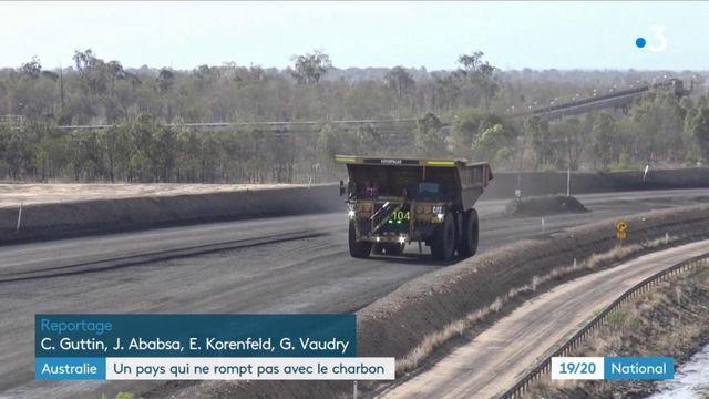 L'Australie ne veut pas rompre avec le charbon