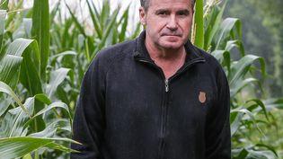 Paul François a été intoxiqué auLasso, un puissant herbicide de Monsanto (28 juillet 2015). (THIBAUD MORITZ / AFP)