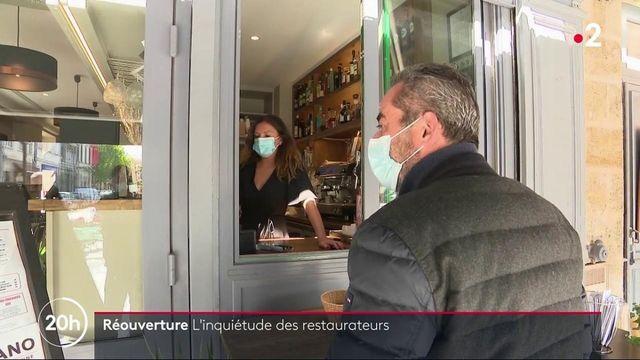 Réouverture : angoisse chez les restaurateurs