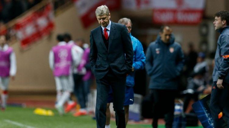 Arsène Wenger face à Monaco