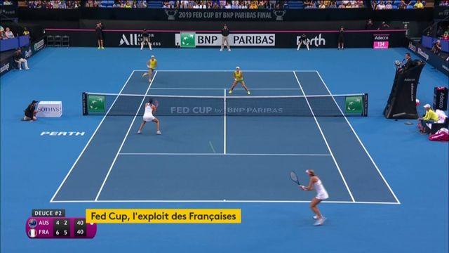 Fed Cup, l'exploit des Françaises