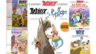 Le nouvel album d'Astérix, Astérix et le griffon, sortira le 21 octobre. (ALBERT UDERZO, DARGAUD / ALBERT UDERZO, DARGAUD / DIDIER CONRAD, ED. ALBERT RENE / DIDIER CONRAD, ED. ALBERT RENE / PHILIPPE FENECH, ED. ALBERT RENE)