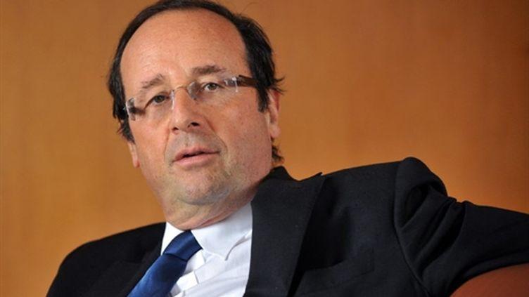 François Hollande, président du conseil général de Corrèze et probable candidat à la présidentielle, le 15 janvier 2011. (AFP - Pierre Andrieu)