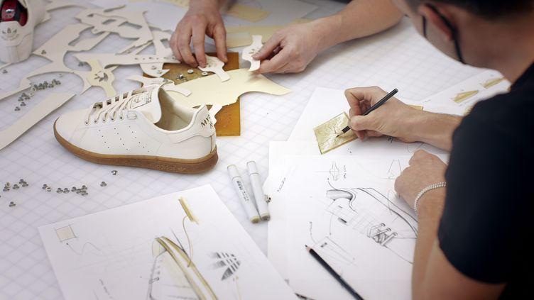 Le prototypage de la Stan Smith Mylo d'Adidas. 2021 (Adidas)