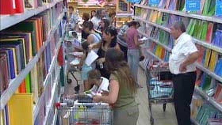 Le prix des fournitures scolaires, l'inquiétude de la rentrée (© France3)