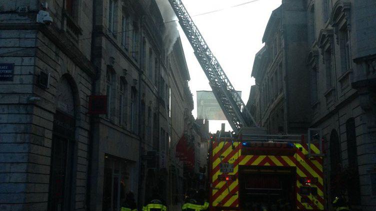 Incendie à Besançon le 21 septembre 2016 (France Bleu Besançon / Radio France)