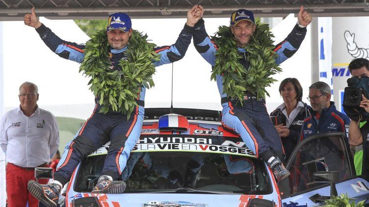 Sébastien Loeb et Daniel Elena, une relation couronnée de succès.  (GREGORY LENORMAND / DPPI MEDIA)