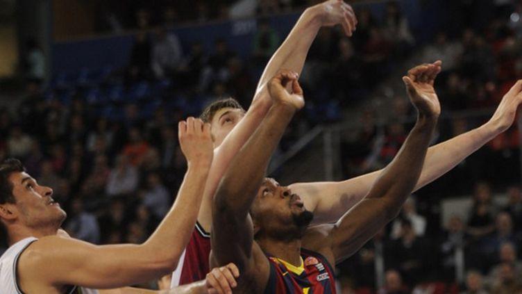 Joey Dorsey (FC Barcelone) (RAFA RIVAS / AFP)
