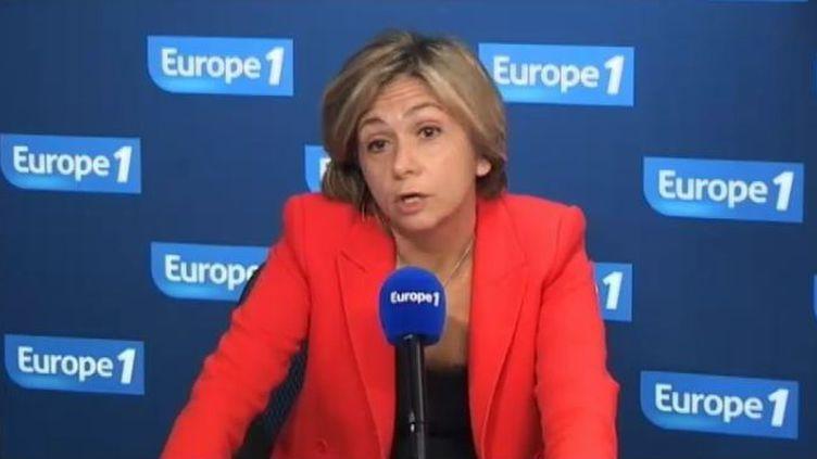 Valérie Pécresse, porte-parole du gouvernement, le 16 novembre 2011 sur Europe 1. (FTVi / Europe 1)