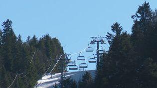 Vosges : les stations souffrent du manque de neige (FRANCE 2)