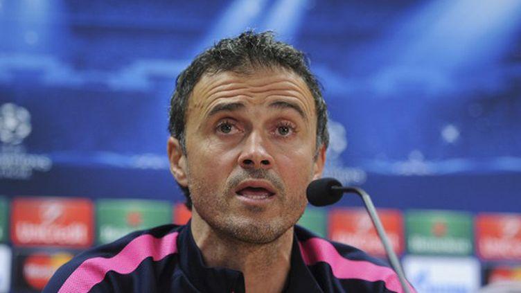 Luis Enrique, entraîneur du FC Barcelone (JOSEP LAGO / AFP)