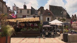 Sancerre (Cher) a été sacré village préféré des Français. (CAPTURE ECRAN FRANCE 3)