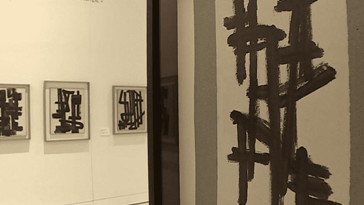 Oeuvres sur papier de Soulages  (France 3 / Culturebox)