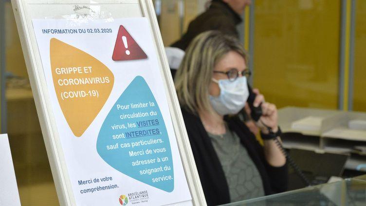 L'hôpital public prêt à faire face à l'épidémie de coronavirus (photo d'illustration). (THIERRY CREUX / MAXPPP)