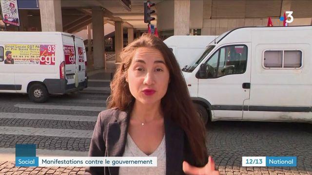 Social : les syndicats organisent des manifestations contre le gouvernement
