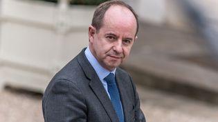 Le ministre de la Justice Jean-Jacques Urvoas après un conseil des ministres, le 24 mars 2016 à l'Elysée. (CITIZENSIDE/YANN KORBI / CITIZENSIDE / AFP)