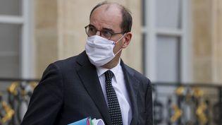 Le Premier ministre Jean Castex à l'Elysée (Paris), le 28 octobre 2020. (LUDOVIC MARIN / AFP)
