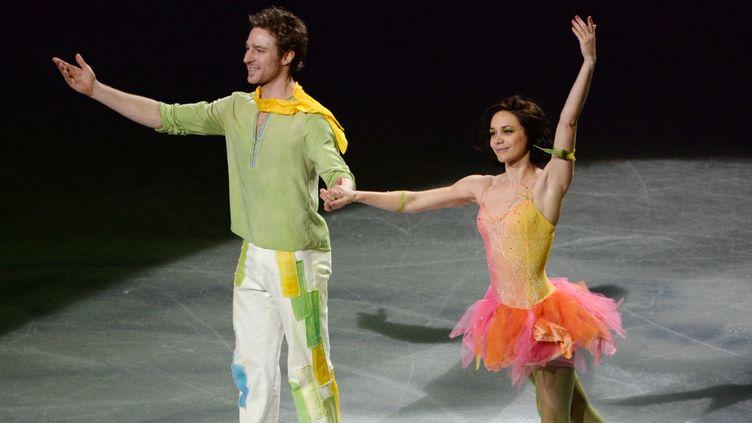 Nathalie Péchalat et Fabian Bourzat (TOSHIFUMI KITAMURA / AFP)
