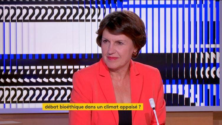 Annie Genevard, députée LR du Doubs (FRANCEINFO)