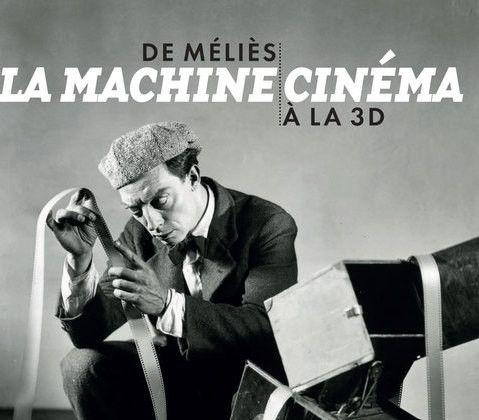 """""""la Machine cinéma' : 1re de couverture (détail)  (Cinémathèque - Lienart)"""
