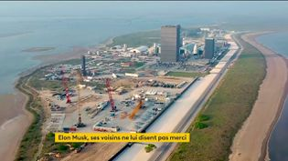 Le centre spatial d'Elon Musk se développe aux dépens du village texan de Boca Chica (FRANCEINFO)
