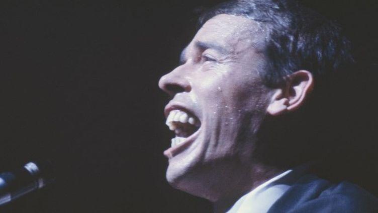 Jacques Brel à l'Olympia en 1967  (Marc Garanger / Aurimages )