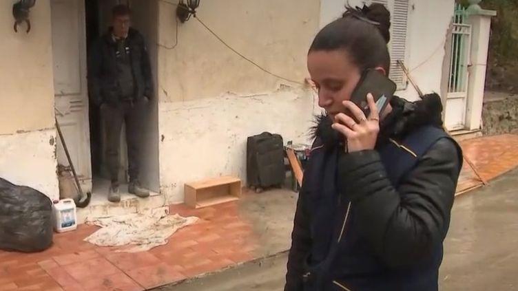 Breil-sur-Roya : une courageuse factrice continue d'exercer (FRANCEINFO)