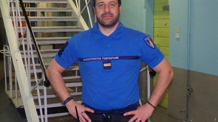Christopher Pécoraro, chef de bâtiment à la prison de Mulhouse. (ADMINISTRATION PENITENTIAIRE)
