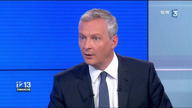 """Bruno Le Maire veut une """"justice d'exception"""" contre le terrorisme"""