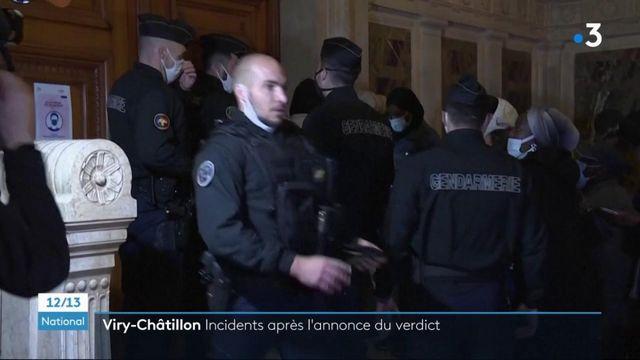 Procès des policiers brûlés à Viry-Châtillon : des peines moins lourdes qu'en première instance