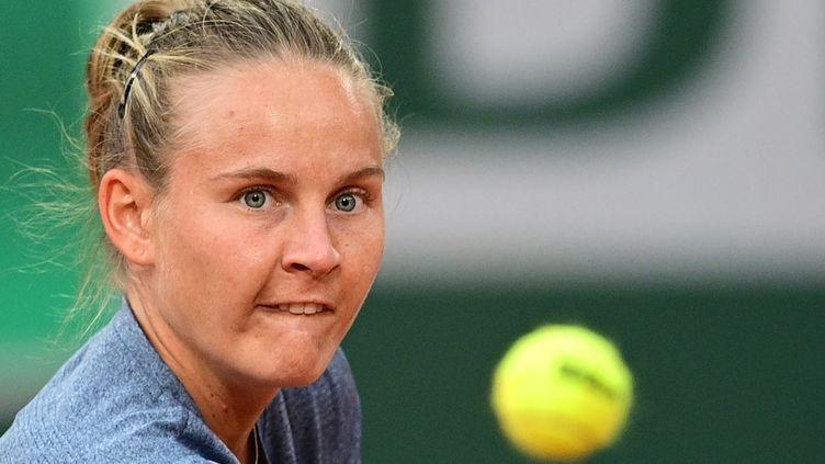 Fiona Ferro, le 1er octobre.  (MARTIN BUREAU / AFP)