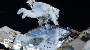 L'astronaute français Thomas Pesquet sorti de la Station spatiale internationale, le 13 janvier 2017 (NASA / SIPA)