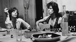 Jagger Richards en pleine création à la villa Nellcote  (Dominique Tarlé / capture d'écran)