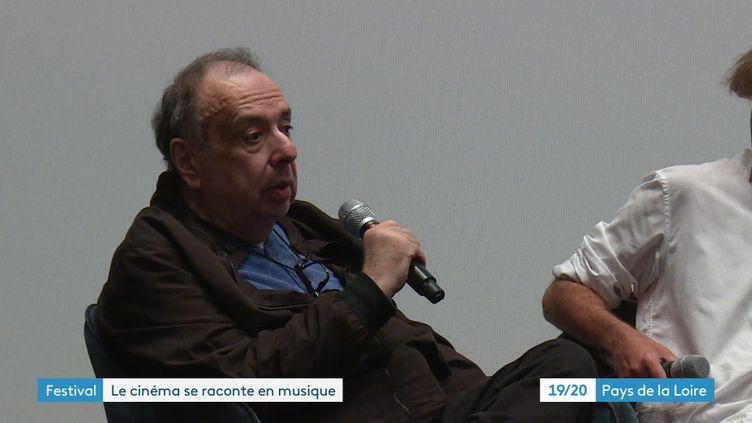 Philippe Sarde, invité d'honneur du festival de cinéma et de la musique de film de la Baule, le 26 juin 2021 (France 3 Pays de la Loire)