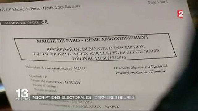 Listes électorales : plus que quelques heures pour s'inscrire