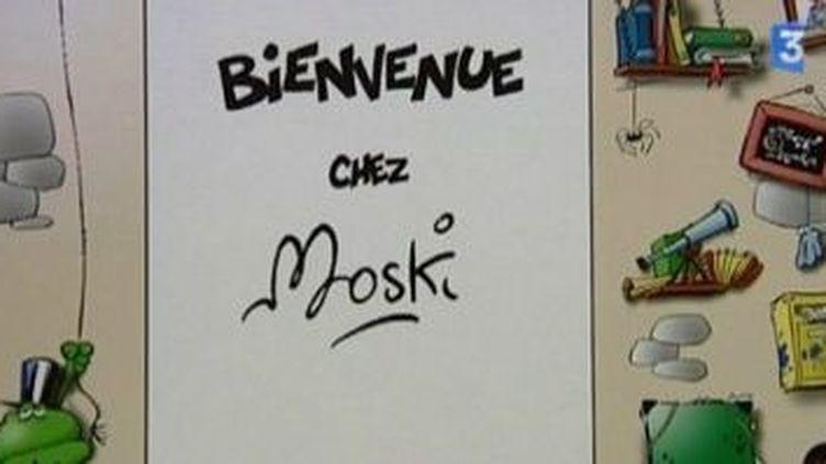 Moski dessine Moustic  (Culturebox)