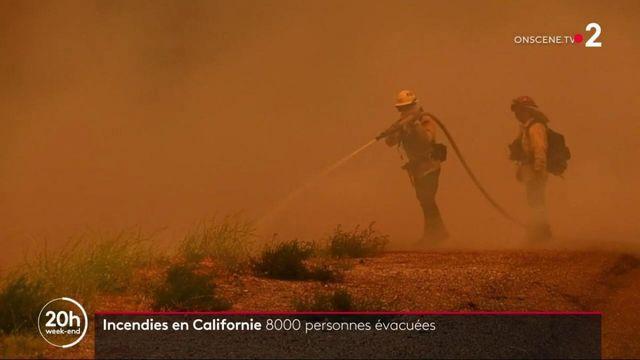 Californie : 8 000 personnes évacuées suite à un incendie