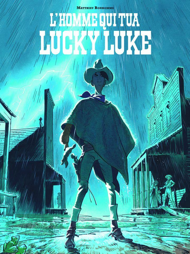 """Fauve d'Angoulême, Prix du Public Culturea, """"L'Homme qui tua Lucky Luke"""", Matthieu Bonhomme (Lucky Comics)"""