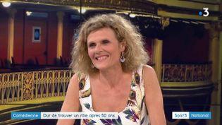 La comédienne Nathalie Mann (France 3)