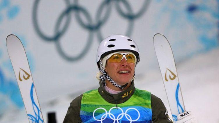 L'Australienne Lydia Lassila, championne olympique de ski acrobatique à Vancouver