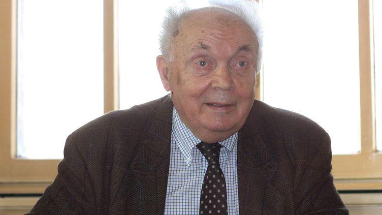 Le professeur et philosophe François Dagognet à Lyon en 2002  (BEP/LE PROGRES)