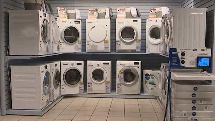 Des lave-linge (FRANCEINFO)