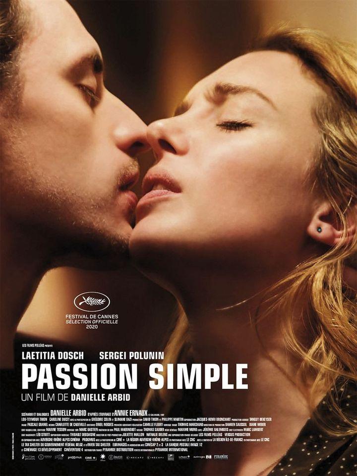 """L'affiche de""""Passion simple"""" deDanielle Arbid (2021). (PYRAMIDE DISTRIBUTION)"""