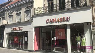 L'avenir des634 magasinsde l'enseigne de prêt-à-porter sera tranché par le tribunal de commerce de Lille. (MARIE MAHEUX / RADIOFRANCE)