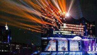 La Philharmonie de Hambourg le soir de son inauguration (11 janvier 2017)  (Markus Scholz/dpa/picture-alliance/MaxPPP)