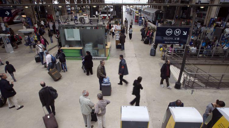 La gare du Nord, le 12 juin 2012, à Paris. (JOEL SAGET / AFP)