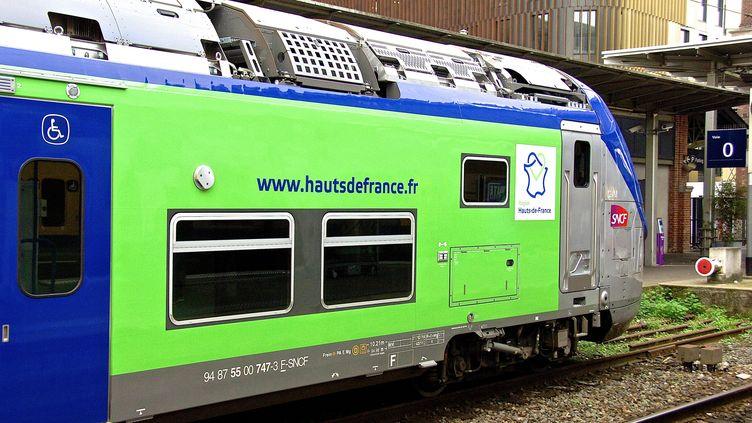 Un TER des Hauts-de-France, en août 2016. (MAXPPP)